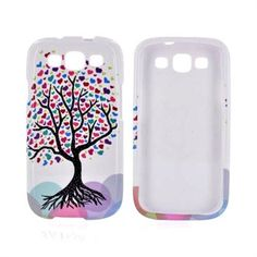 Samsung Galaxy S3 Hard Case - Love Tree on White    Popular design. Pretty cute $12.99