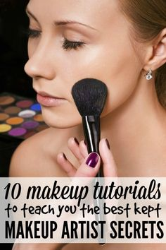 10 amazing beauty secret tutorials (think: how to get your foundation to last all day, the secret to making acne scars disappear, the best tricks to make your nose look smaller, how to cover the dark circles under your eyes, and more) from one of the best makeup artists in the world.