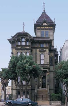 San Francisco's Famous Westerfield House (1889)