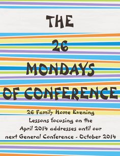 Create, Create, As Craft As You Can!: The 26 Mondays of Conference