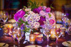 La Tavola Fine Linen Rental: Va Va Boom Plum with Va Va Boom Plum Napkins | Photography: Braja Mandala & Gene Higa, Event Planning & Design: Crown Weddings, Floral Design: Adorations Botanical Artistry, Venue: The Lodge at Torrey Pines