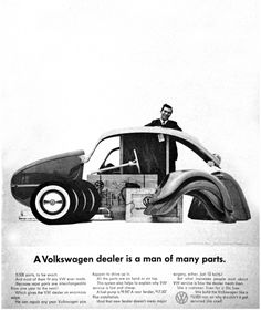 A great car company takes care of its dealers, too. | All The Great Mad Men Era Volkswagen Ads