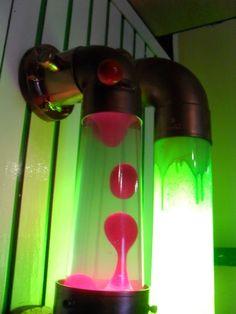 Steampunk lavalamp