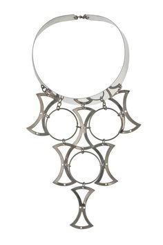 Necklace Claude Momiron Silver ca. 1969 France