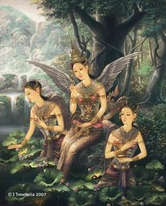 """[Thai Tale] """"Pra Suthon - Manora"""" The famous love story from epic of Thailand."""