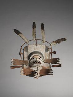 masque yupik © musée du quai Branly, photo Patrick Gries. Acquis grâce au mécénat de METROPOLE Gestion