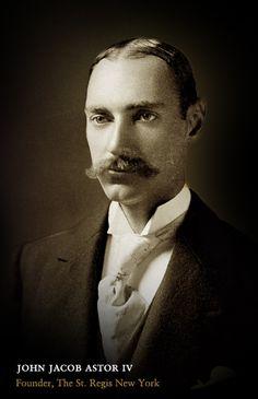 John Jacob Astor IV went down with the titanic