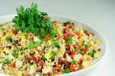 Nutritious and healthy fried rice #recipes #HealthyFriedRice #HealthyFriedRiceRecipe
