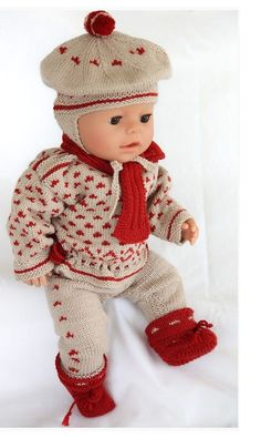 Elegant clothes for Baby born doll