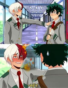 Yaoi, Fluff, Ships, AUs, and crossovers of BNHA pics! (None of the fanarts belong to me! They belong to their rightful owners!) Ranked: - Shota - Deku - Shoto - Katsuki Bakugou - All might - Ships [Jun - Bnha my hero [Jun - bokunoheroaca. Deku Hero Academia, My Hero Academia Memes, Hero Academia Characters, Buko No Hero Academia, My Hero Academia Manga, Lgbt Anime, Tamako Love Story, Anime Lindo, Animes Wallpapers