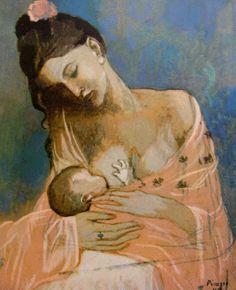 Picasso - souvenir d'enfance nous avions à la maison cette reproduction.