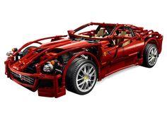 Fast...red..LEGO Technic Ferrari    #lego #lego_technic #lego_ferrari