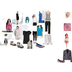 2015 Mediterranean by majc61 on Polyvore featuring Calvin Klein, Kamali Kulture, Warehouse, H&M, HUGO, Banana Republic, Kate Spade, Eddie Bauer, Naot and ECCO