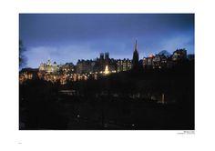 page 014 – Edinburgh by Night (©Big Book Schottland · R.J.Hirst · www.alba-collection.com)