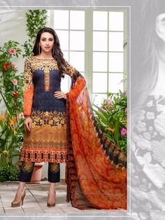 Want to be like a diva Karishma Kapoor? So don't miss there stylish Indian wear collection available at Glamzon. New trendy Digital print designer salwar suit for women of every age.  Very  Comfortable cotton wear salwar suit in unstitched form.  Fit for parties, casual wear, office wear. So, ladies what are you waiting for?  Grab the deal