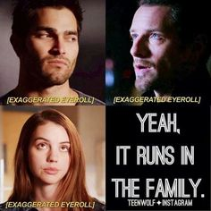 "That one Hale family trait we know all too well: | 21 Jokes Only ""Teen Wolf"" Fans Will Find Funny"