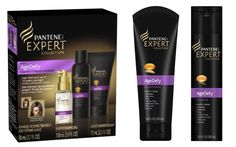 anti-aging shampoos and conditioners with similar ingredients found in age-defying skin creams like vitamin E and panthenol. Pantene Pro-V Expert Collection Agedefy Shampoo $8.86 Pantene Pro-V Expert Collection Agedefy Conditioner $9.60 Or the Pantene Expert Collection Age Defy Starter Kit $24.95