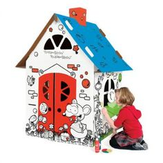 Toopy and Binoo House - Maryn would be in heaven Spiderman Art, Indoor Games, 3rd Birthday, Birthday Ideas, Little Man, Fine Motor Skills, Gift Wrapping, Wrapping Ideas, 5 S