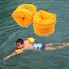 2 Stücke PVC Männer Frauen Erwachsenes Kind Sicherheit Ausbildung Aufblasbare Schwimmen Pool Schwimmen Arm Ring Kreis Float Wasser Luft Ärmeln für kinder