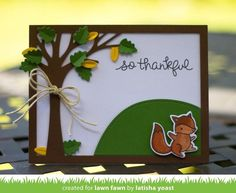 You'll jump for joy with this cute set of critters and fall leaves! This set is…