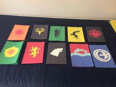 Game of a Thrones door decs
