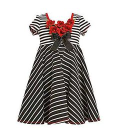 Bonnie Jean 716 MixedStripe Knit Dress #Dillards
