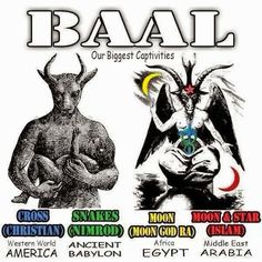 For those of you who did not know, this is your Lord Baal, this is who you are worshipping Everytime you say Lord=Baal, now you know. YAHUAH Barak you...