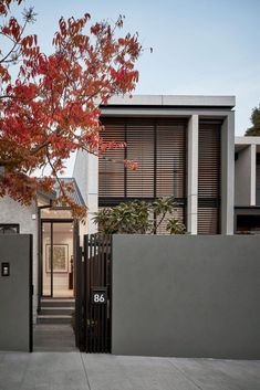 Gallery of Shade Home by Seidler Group | Project Archive | Kew, VIC, Australia - The Local Project Residential Lighting, Residential Interior Design, Luxury Interior Design, Residential Architecture, Modern Architecture, Contemporary Interior, Duplex Design, Townhouse Designs, Melbourne Suburbs
