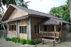 I want this house! House Plants Decor, Plant Decor, Bamboo House Design, Bahay Kubo, Bamboo Architecture, Traditional House, My House, Farmhouse, Mens Hair