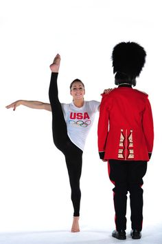 Jordyn Wieber holds a pose for a Team USA/USOC promo shoot for the 2012 London Olympics.