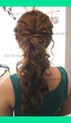 Fancy Ponytail | Marjonelle M.'s (MarjonelleM) Photo | Beautylish
