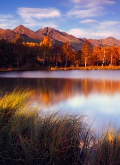 Autumn by Marek Potoma. The High Tatras are a mountain range along the border of northern Slovakia in the Prešov Region, and southern Poland. Bratislava, Beautiful World, Beautiful Places, John Cheever, Places To Travel, Places To Visit, Heart Of Europe, Central Europe, Eastern Europe