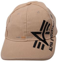 Кепка Big A Cross Cap Alpha Industries (хакі) Наявність: під замовлення  Ціна: 20 $