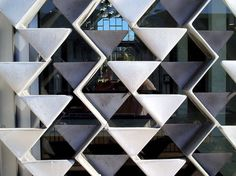 Wayne State University's McGregor Memorial Conference Center, Detroit, Architect: Minoru Yamasaki