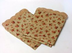 Handmade Vintage Inspired Pillowcases with by MidnightandMagnolias, $40.00