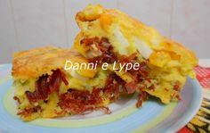Danni e Lype: Bolo Salgado de Fubá com Carne Seca