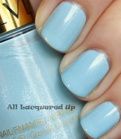 revlon blue lagoon. this is one of my favorite nail polishes ever