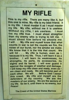 [Jacksonville Gun Range] I heard this alot when my hubby was a rifle range instructor in Jacksonville, NC