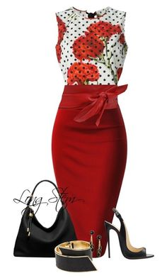A fashion look from June 2017 by longstem featuring Dolce&Gabbana, Michael Kors, CC SKYE and ASOS Fashion Mode, Office Fashion, Fashion Shoes, Fashion Outfits, Womens Fashion, Fashion Trends, Classy Outfits, Beautiful Outfits, Church Fashion