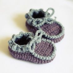 Instant download - Baby Booties Crochet PATTERN (pdf file) - Everyday Baby Moccasins via Etsy