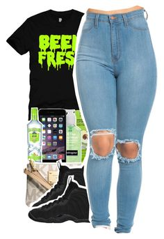 """Untitled #435"" by uniquee-beauty ❤ liked on Polyvore featuring Michael Kors and NIKE"