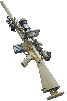 Bullet Flight smart phone app on Sniper Rifle. App calculates a number of different variables for accurate targeting