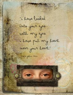 . . . i have put my heart . . . ~ art journal page