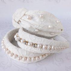 Jeweled Headband, Pearl Headband, Wedding Headband, Diy Headband, Felt Hair Accessories, Hair Accessories For Women, Wedding Hair Accessories, Headbands For Short Hair, Lace Headbands