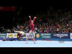 McKayla Maroney QF FX [2013] - One of the most entertaining routines of 2013. Shimmies everywhere.
