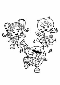 10 best team umizoomi coloring pages for your toddler - Team Umizoomi Bot Coloring Pages