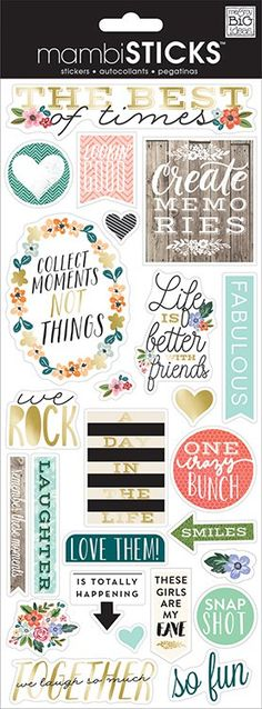 Journal Under The Sea Die-Cut Stickers 12-Inch by 12-Inch Sheet