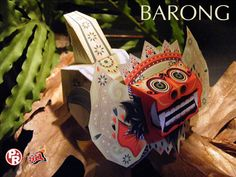 Balinese Myth and Culture Papercraft.  So amazing!