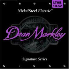 Dean Markley 2504B Markley Strngs Nckl Stl Lthb by Dean Markley. $4.99. Here's a secret, Dean Markley NickelSteel Electric guitar strings are made of the highest quality 8% zinc steel for incredible tone that lasts longer than other strings. Okay, it's not really a secret, but there's no denying that Dean Markley NickelSteel Electric guitar strings totally rule! If you want the tone that's turned tons of top records gold, platinum, and beyond for over 30 years, then you're lookin...