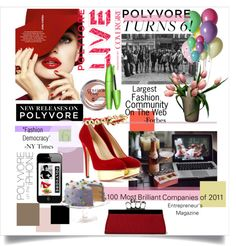"""Happy Birthday Polyvore!!"" by pattykake ❤ liked on Polyvore"